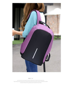USB Charging Backpack Anti-Theft