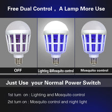 Load image into Gallery viewer, Bug Zapper Best Mosquito Zapper Insect Killer Lamp Mosquito Killer LED Lamp