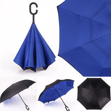 Load image into Gallery viewer, Inverted Umbrella Best Inverse Umbrella Reversible