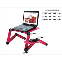 Load image into Gallery viewer, Portable Laptop Desk Adjustable Laptop Stand