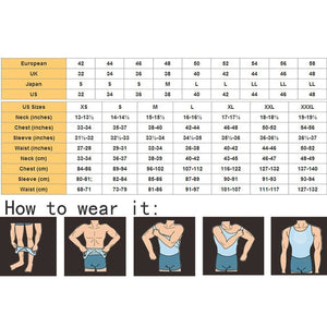 Compression Shirt Men's Slimming Body shape Shirt