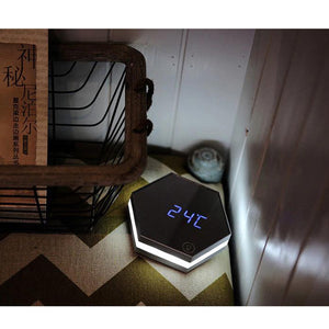 Digital Alarm Clock Mirror