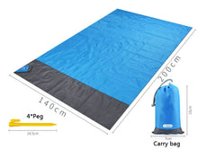 Load image into Gallery viewer, Sand Free Beach Mat Waterproof Beach Mat Outdoor Blanket