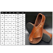 Load image into Gallery viewer, Orthopedic Leather Bunion Corrector Women's Flats Shoes