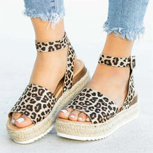 Load image into Gallery viewer, Summer Women's Wedge Platform Sandals