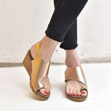 Load image into Gallery viewer, Womens Orthopedic Bunion Sandals  Platform Wedge