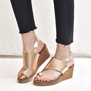 Womens Orthopedic Bunion Sandals  Platform Wedge