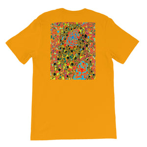The Stick Figures - 5 - FRONT LOGO BACK ARTWORK T-SHIRT t-shirt- Doodles by Wessel