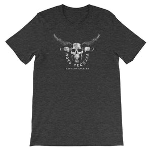 Moto Tecnica Cycle Shop DESIGNER DARK HEATHER T-SHIRT t-shirt- Doodles by Wessel