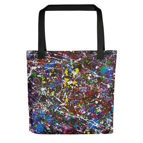 Abstract INNERVERSE Tote- Doodles by Wessel
