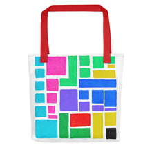 Load image into Gallery viewer, Boxes Series 3 - 2 Tote- Doodles by Wessel