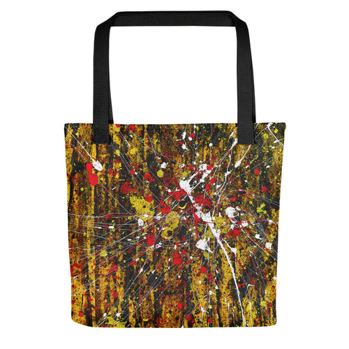 abstract - Untitled 16 Tote- Doodles by Wessel