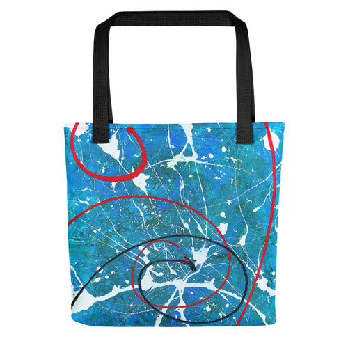 abstract - Untitled 15 Tote- Doodles by Wessel