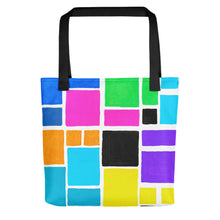 Load image into Gallery viewer, Boxes Series 3 - 1 Tote- Doodles by Wessel