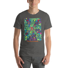 Load image into Gallery viewer, Doodles by Wessel - The stick figures 3 UNISEX T-SHIRT t-shirt- Doodles by Wessel