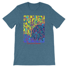 Load image into Gallery viewer, Doodles by Wessel - The stick figures 1 UNISEX T-SHIRT t-shirt- Doodles by Wessel