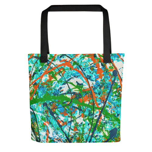 Abstract - GROWTH Tote- Doodles by Wessel