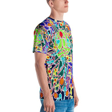 Load image into Gallery viewer, Doodles by Wessel - The Stick Figures 8 ALL OVER PRINT GRAPHIC TEE