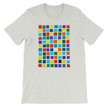 Load image into Gallery viewer, Boxes - 2 - BLACK GRAPHIC ART T-SHIRT t-shirt- Doodles by Wessel