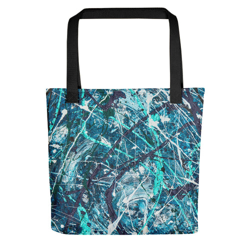 Abstract - WAVES Tote- Doodles by Wessel