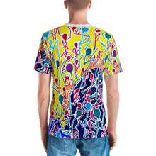 Load image into Gallery viewer, Doodles by Wessel - The Stick Figures 1 ALL OVER PRINT GRAPHIC TEE t-shirt- Doodles by Wessel
