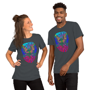 The Stick Figures - New Beginnings - GRAPHIC ART TEE t-shirt- Doodles by Wessel