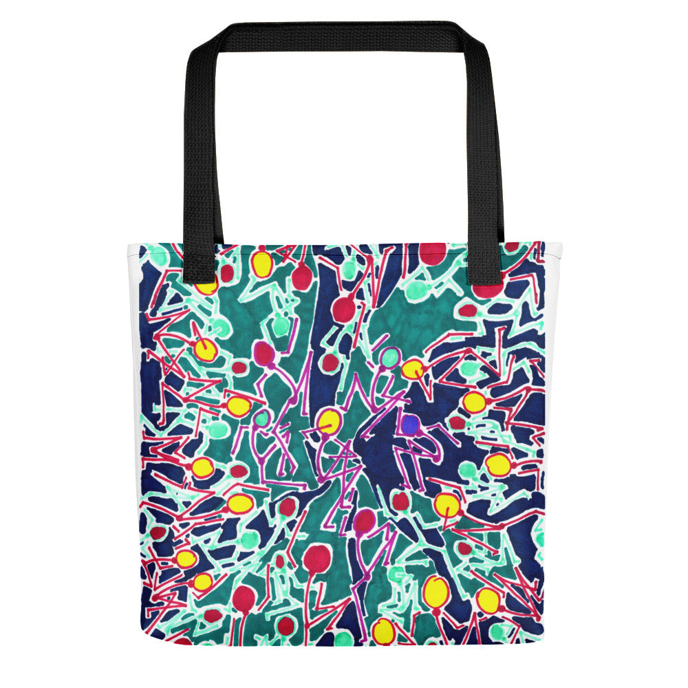 The Stick Figures 4 - Support - GRAPHIC ART TOTE