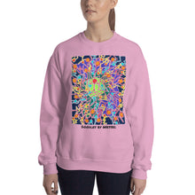 Load image into Gallery viewer, Doodles by Wessel - The Stick Figures 8 WOMENS SWEATER