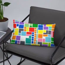 Load image into Gallery viewer, Boxes 19 THROW PILLOW pillow- Doodles by Wessel