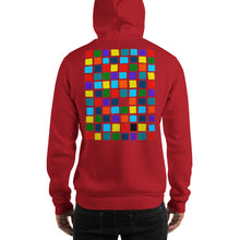 Load image into Gallery viewer, Boxes - 2 - EXPERIMENTS WITH COLOR HOODIE