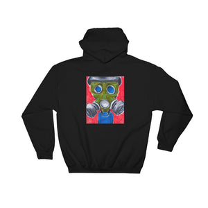 It's the end of the world... and no one cares.  1 - BLACK PULLOVER HOODIE Hoodie- Doodles by Wessel