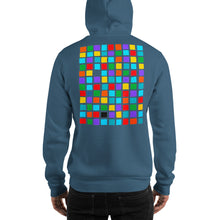 Load image into Gallery viewer, Boxes - 5 - EXPERIMENTS WITH COLOR HOODIE