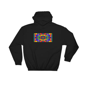 Boxes - 5 - 3 - BLACK GRAPHIC ART PULLOVER HOODIE