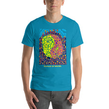 Load image into Gallery viewer, Doodles by Wessel - The Stick Figures 6 UNISEX T-SHIRT t-shirt- Doodles by Wessel