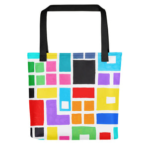 Boxes Series 2 - 4 Tote- Doodles by Wessel