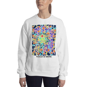 Doodles by Wessel - The Stick Figures 8 WOMENS SWEATER