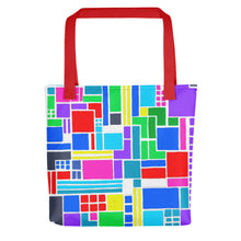 Load image into Gallery viewer, Boxes 6 - 2 Tote- Doodles by Wessel