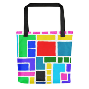 Boxes Series 3 - 5 Tote- Doodles by Wessel