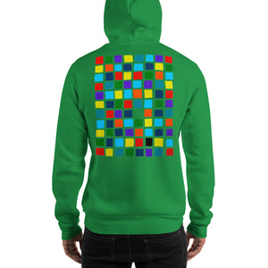Boxes - 2 - EXPERIMENTS WITH COLOR HOODIE