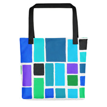 Load image into Gallery viewer, Boxes Series 3 - 3 Tote- Doodles by Wessel