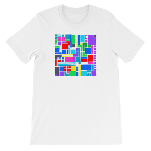 Boxes - 6 - 2 - White GRAPHIC ART T-SHIRT