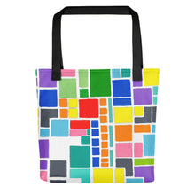 Load image into Gallery viewer, Boxes 4 - 3 Tote- Doodles by Wessel