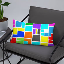 Load image into Gallery viewer, Boxes 17 THROW PILLOW pillow- Doodles by Wessel