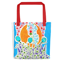 Load image into Gallery viewer, The Stick Figures 7 GRAPHIC ART TOTE