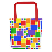 Load image into Gallery viewer, Boxes 5 - 2 Tote- Doodles by Wessel