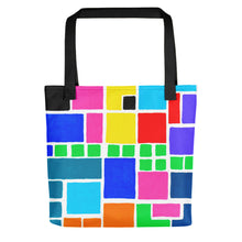 Load image into Gallery viewer, Boxes Series 3 - 4 Tote- Doodles by Wessel