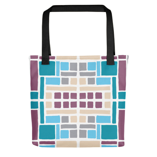 Boxes Series 7 TOTE Tote- Doodles by Wessel