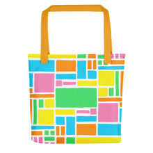 Load image into Gallery viewer, Boxes - 5 - 1 Tote- Doodles by Wessel