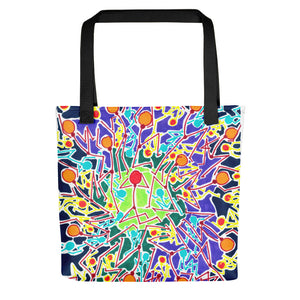 The Stick Figures 8 GRAPHIC ART TOTE