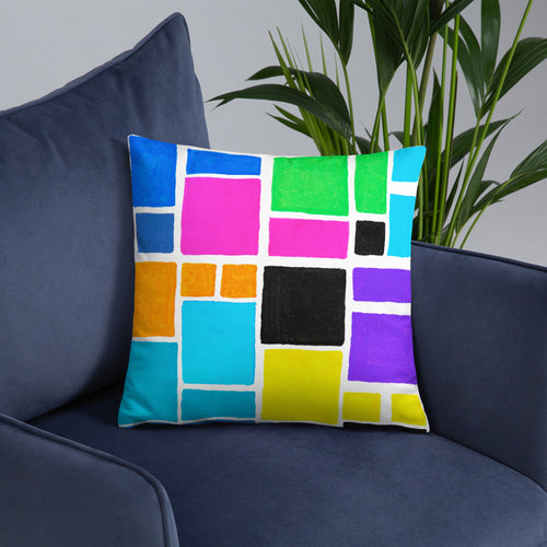 Boxes 16 THROW PILLOW pillow- Doodles by Wessel
